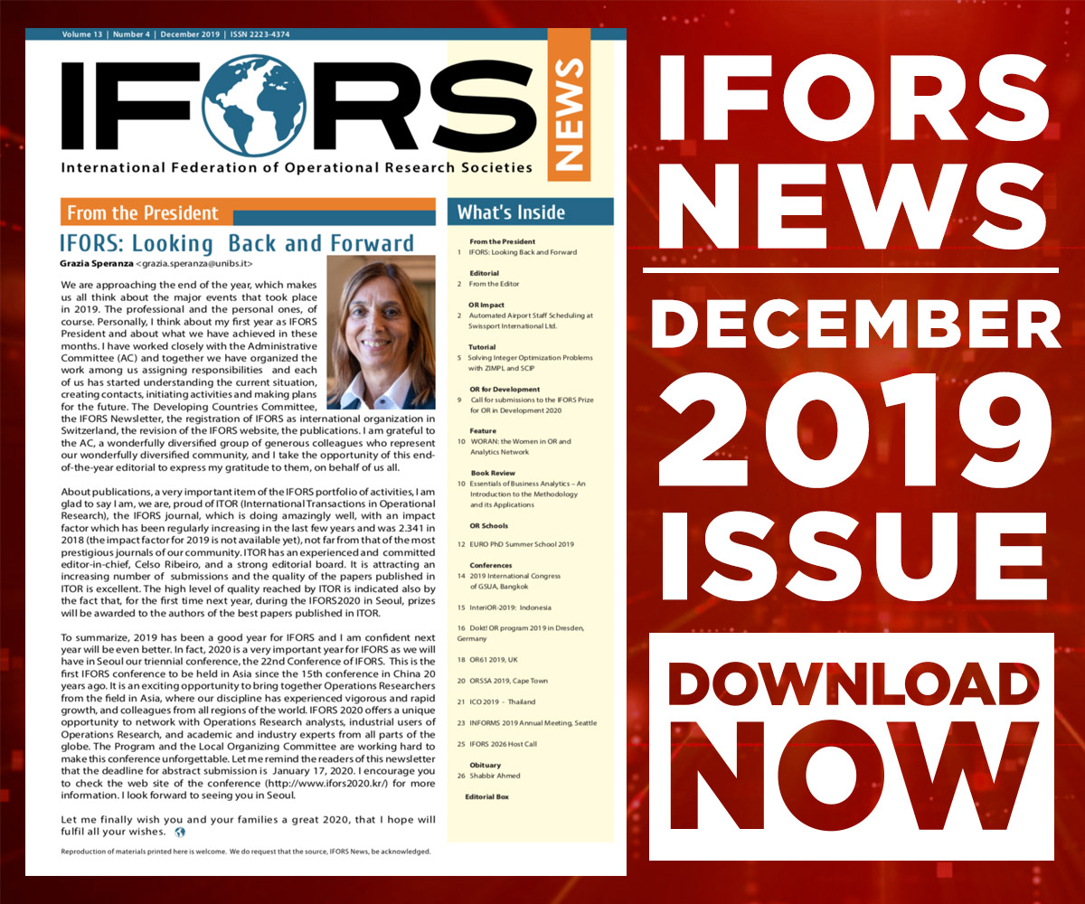 IFORS Newsletter